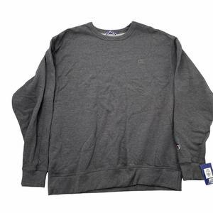 Champion XL  Gray Fleece Crewneck Sweatshirt